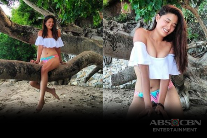 WOW! Primetime leading lady Yam Concepcion showing her sexy curve!
