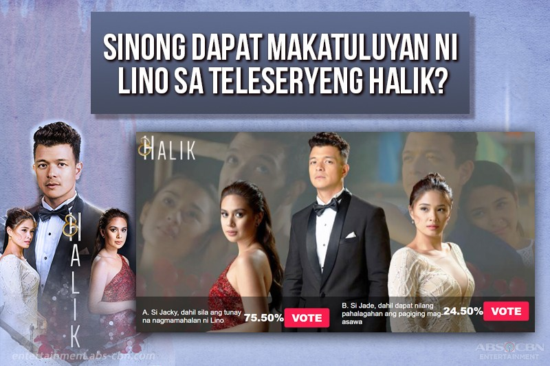 Poll: Netizens want Lino to dump Jade, spend forever with Jacky in Halik