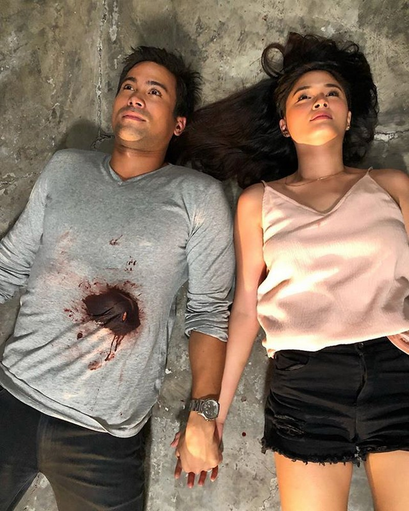 Lagot ka kay Lino! Off-cam kulitan nina Jade at Ace sa set ng 'Halik'