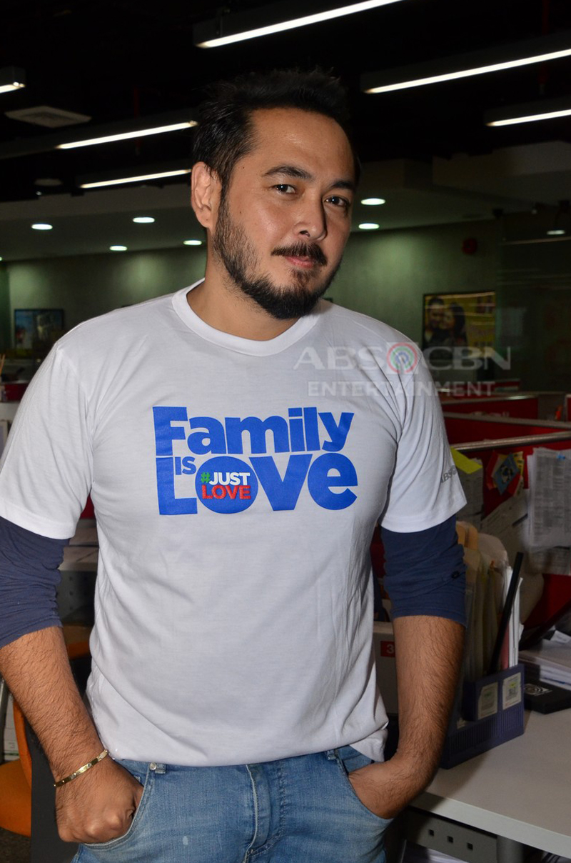 PHOTOS: Halik stars in #FamilyIsLove SID Shoot