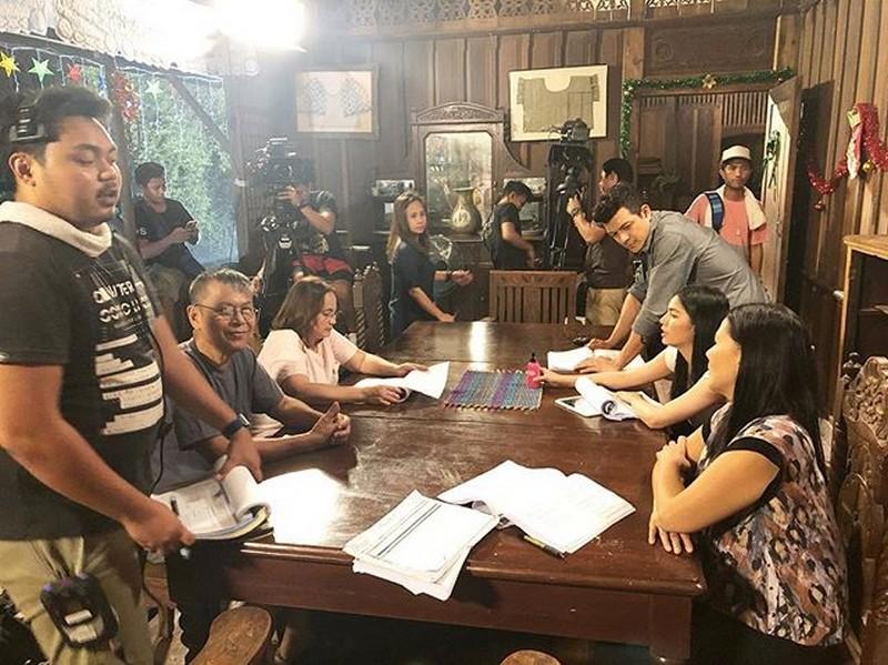 On the set of Halik: Pamilya Bartolome sa likod ng kamera