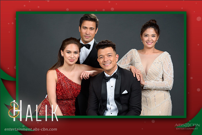 LOOK:  The cast of Halik sending everyone the festive Christmas vibes