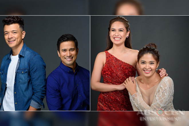 PICTORIAL PHOTOS: 'Halik' stars like you've never seen them before!