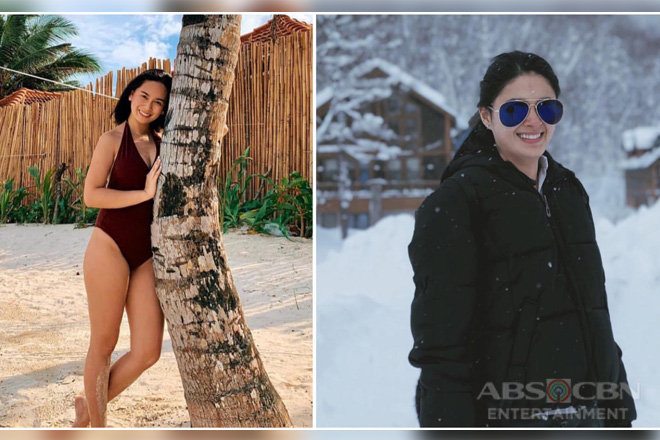 Vacay is OVER but these photos of 'Halik' stars Yen & Yam will show you how they enjoyed the holidays!