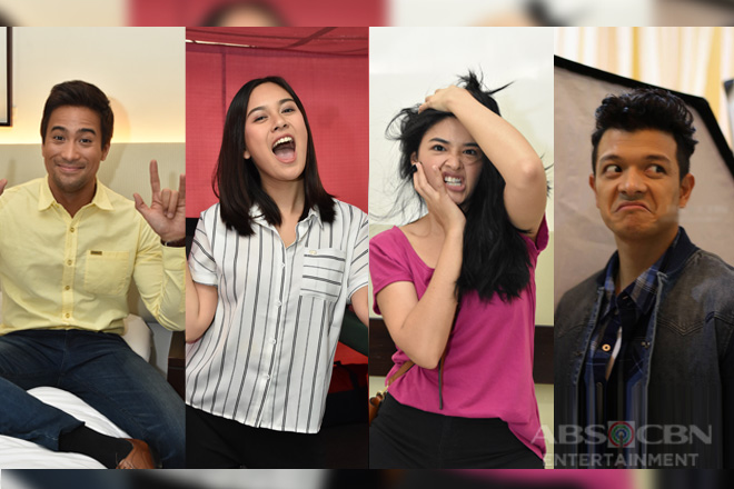 LOOK: Halik stars in their wackiest