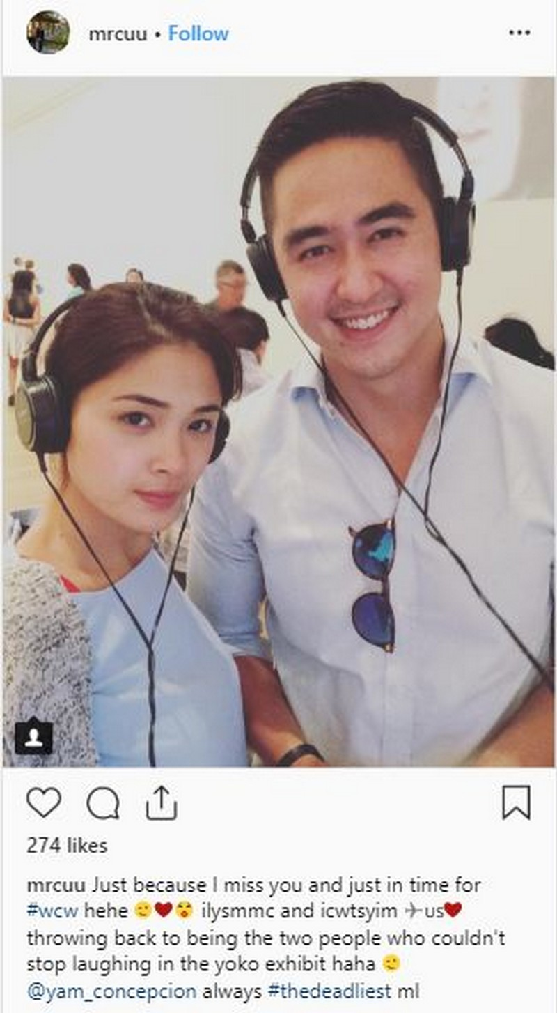 IN PHOTOS: Yam Concepcion with her real life partner!