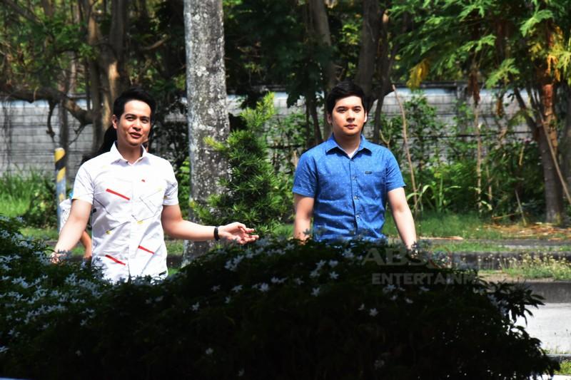 Behind-The-Scenes: Tawanan bago ang bangayan sa set ng Halik