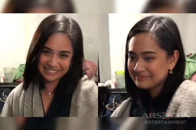 Havey o Waley? Joke time with Yen Santos on the set of 'Halik'