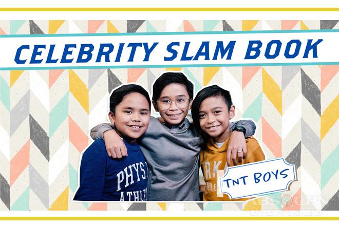 TNT Boys on Celebrity Slam Book